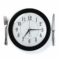 the time of day food is eaten