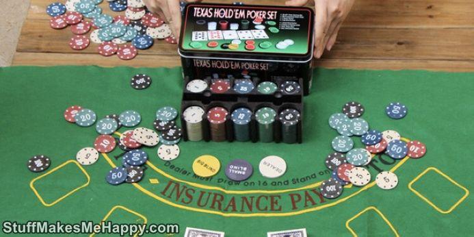 9. Poker Set