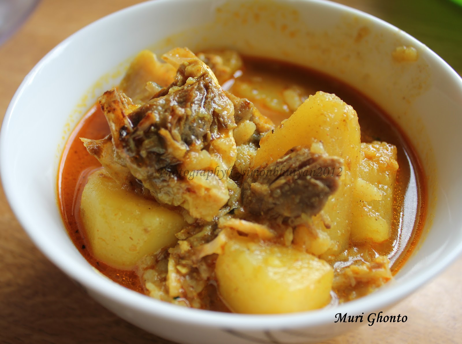 Muri Ghonto-Noakhali Style - Fish head and potato curry