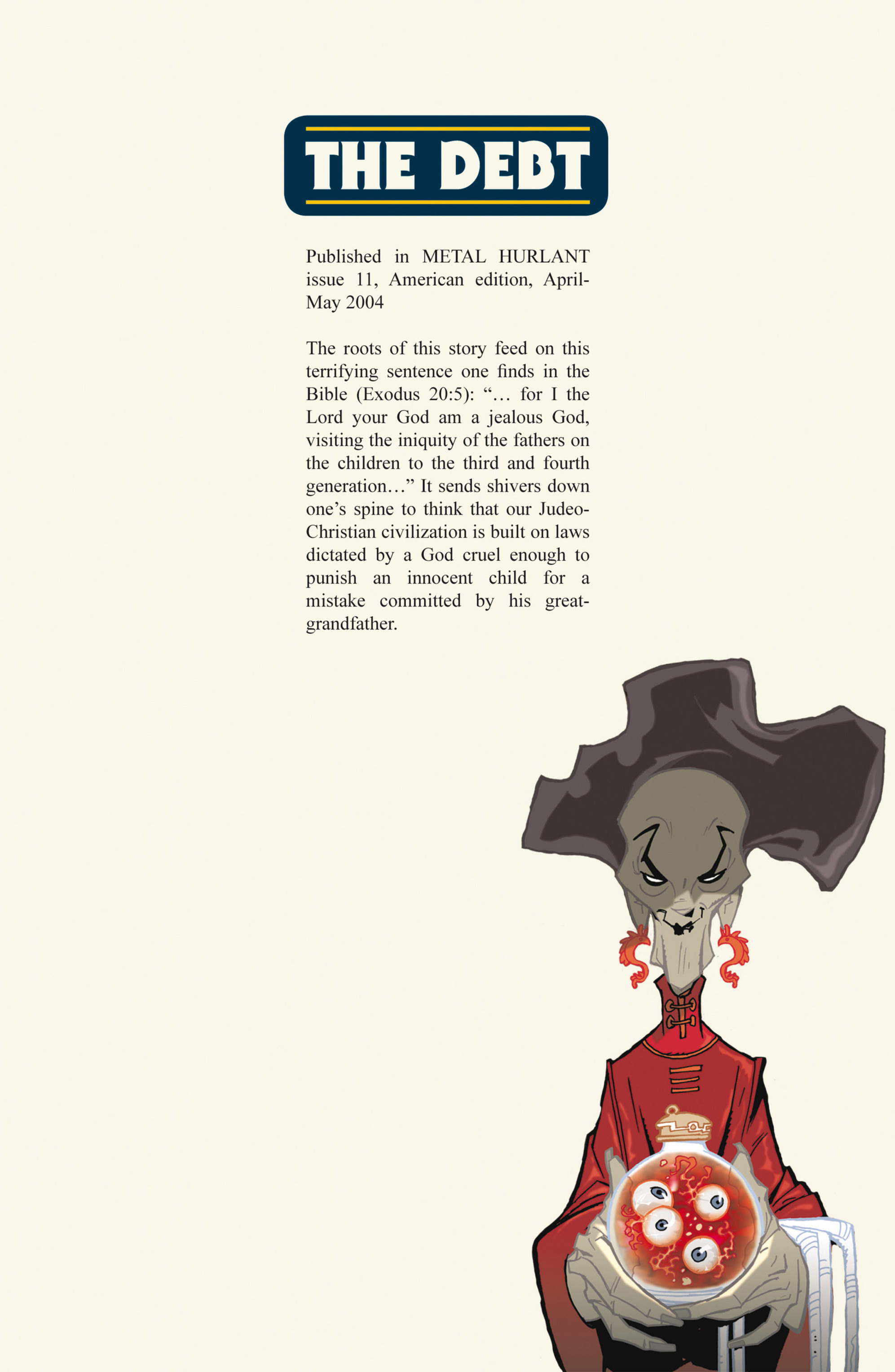Read online Alejandro Jodorowsky's Screaming Planet comic -  Issue #2 - 54