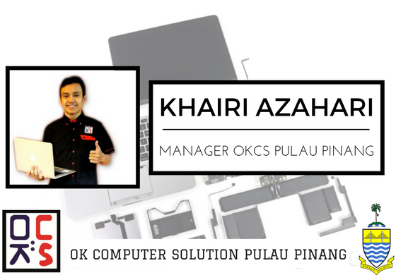LOKASI OK COMPUTER SOLUTION PULAU PINANG | OKCS PENANG