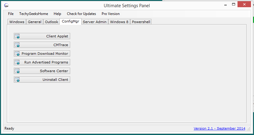 Ultimate Settings Panel version 2.1 Released 4