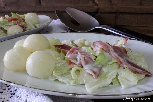 Ensalada de melón. Julia y sus recetas