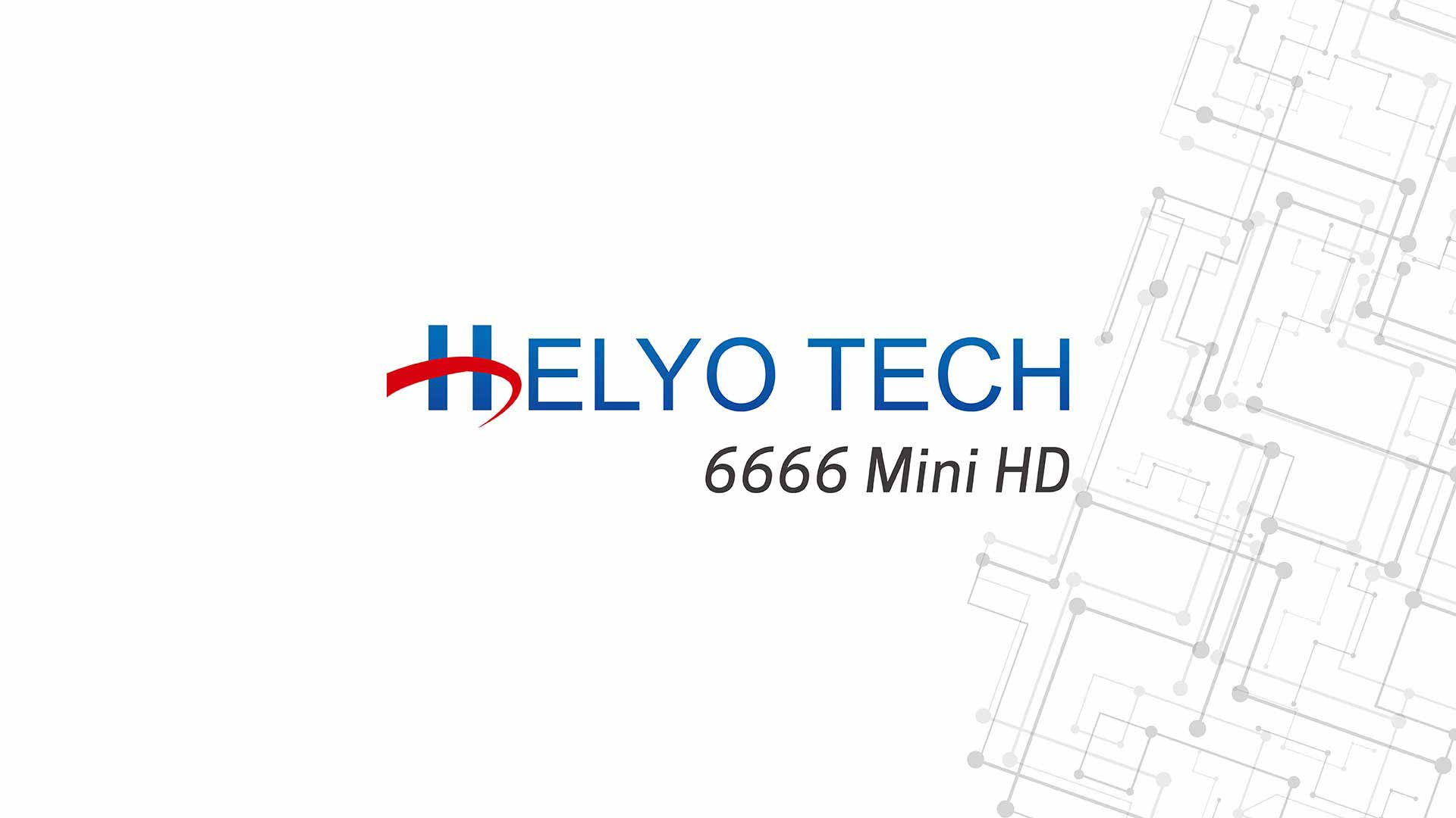 Download Software Helyo Tech 6666 Mini HD Update Firmware Receiver