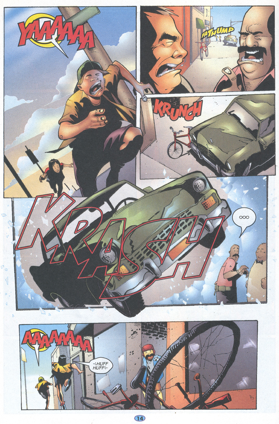 Read online Troublemakers comic -  Issue #11 - 12
