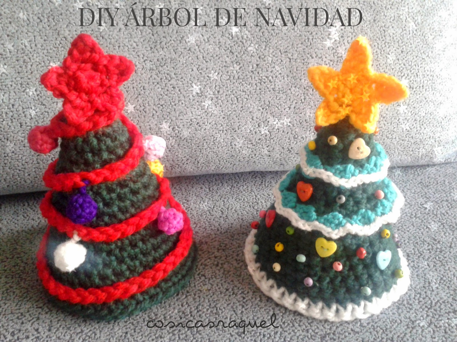 Cosicasraquel Diy Arbol De Navidad A Crochet - Navidad-ganchillo