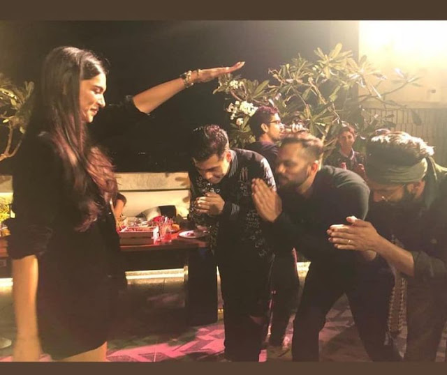 Simmba team celebrate film success, blessings with Deepika Padukone