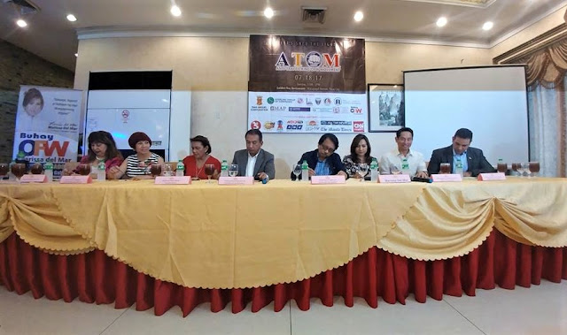 Buhay OFW initiates awareness on human trafficking through the launch of ATOM