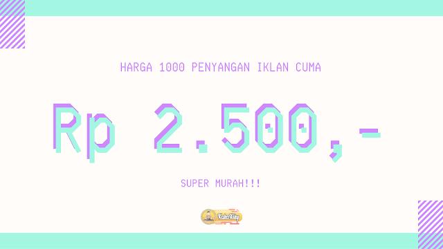 harga jasa web trafik termurah di indonesia