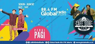GLOBAL Radio 88.4 FM Jakarta & 89.7 FM Bandung Live Sreaming