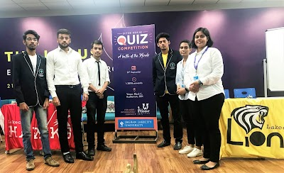Intellect is the new cool: Inter House Quiz Competition 2018 at Jagran Lakecity University.