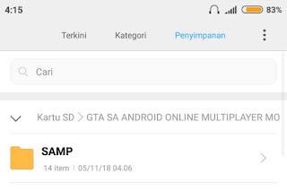 kini game gta sa ini sudah dapat dimainkan secara multiplayer hingga hingga  Cara Bermain GTA SA Android Online Dengan Praktis Tanpa Root