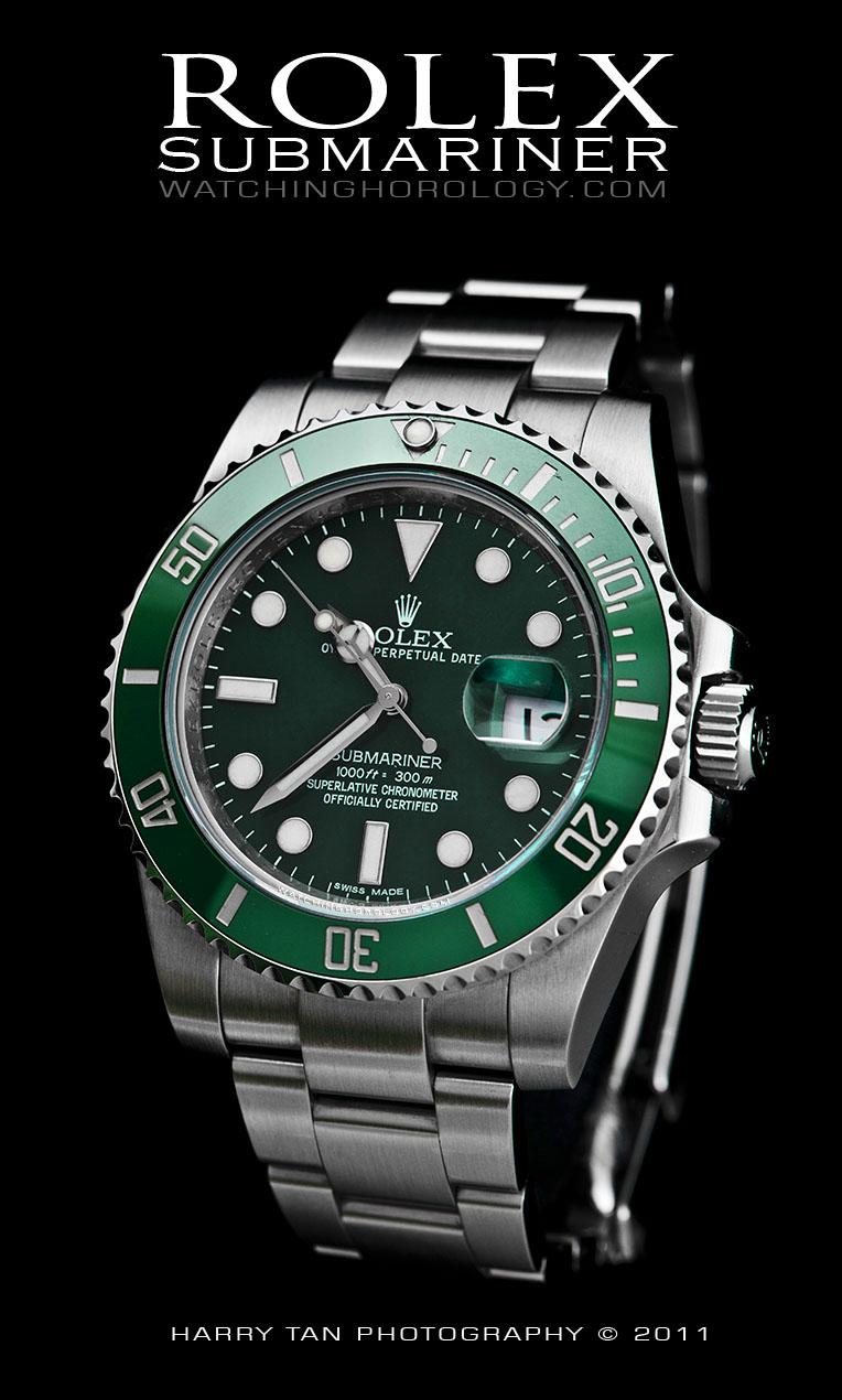 Rolex Green Submariner (Ref. 116610LV) - WatchingHorology
