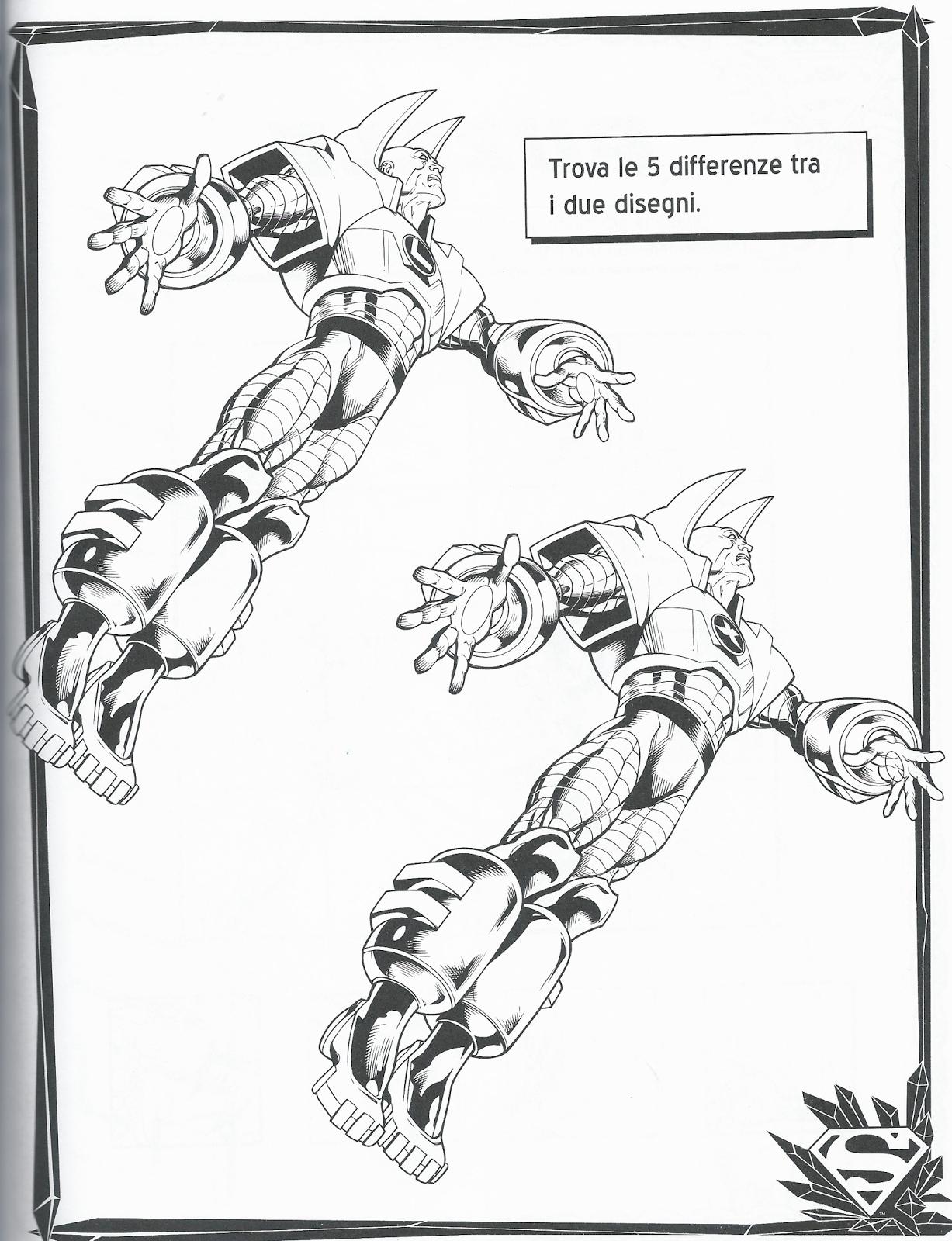 Disegni Da Colorare Supermandisegni Da Colorare Enigmistica E