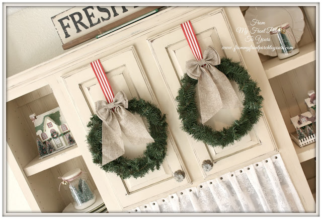 French Farmhouse- French Country- Christmas- Kitchen-From My Front Porch To Yours