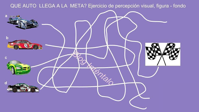 Gimnasia mental: agudeza visual