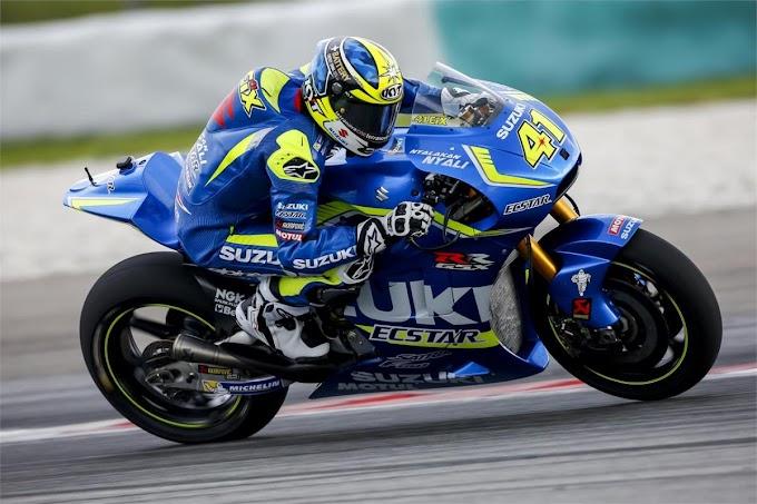 Tagline Satria F150 Hadir di Motor Balap MotoGP Suzuki - Nyalakan Nyali
