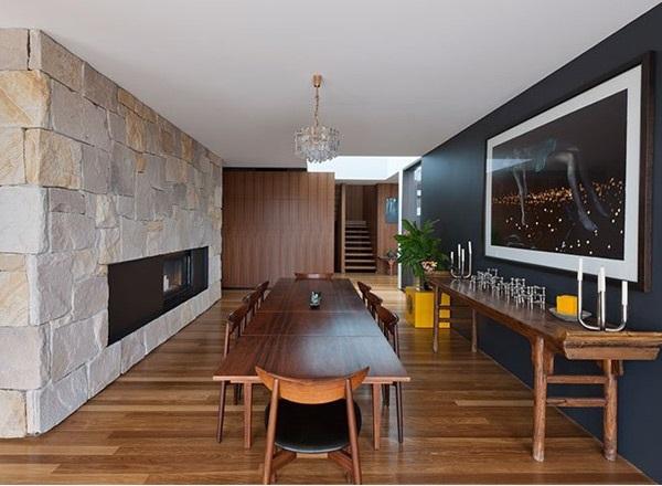Desain Rumah Kontemporer Modern di South Wales