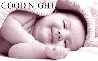 Cute Baby Good Night Image for Whatsapp