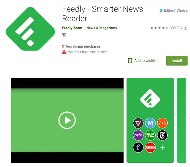 Feddly is an android app for blogger helps to understand