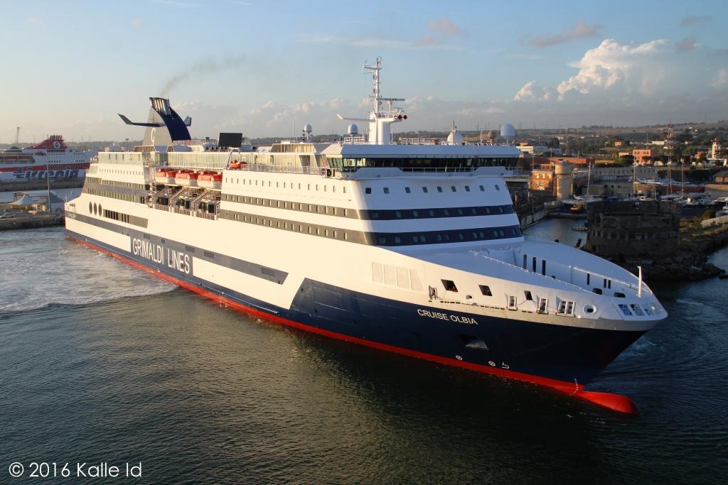 Kships Cruise Olbia In Civitavecchia May - Bimini superfast cruise ship