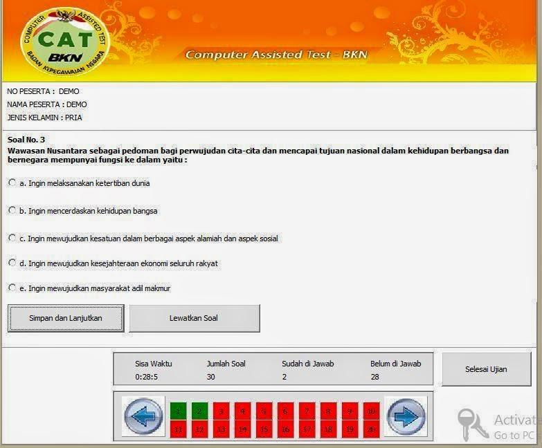 Download Gratis Soal Cpns Dengan Sistem Cat