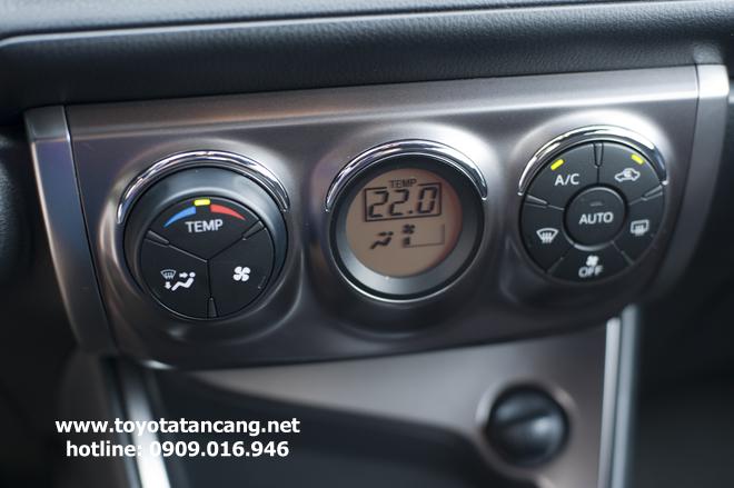 Toyota Yaris 2015 điều hòa tự động