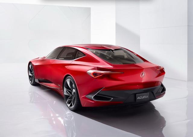 2017 Acura Precision Rear