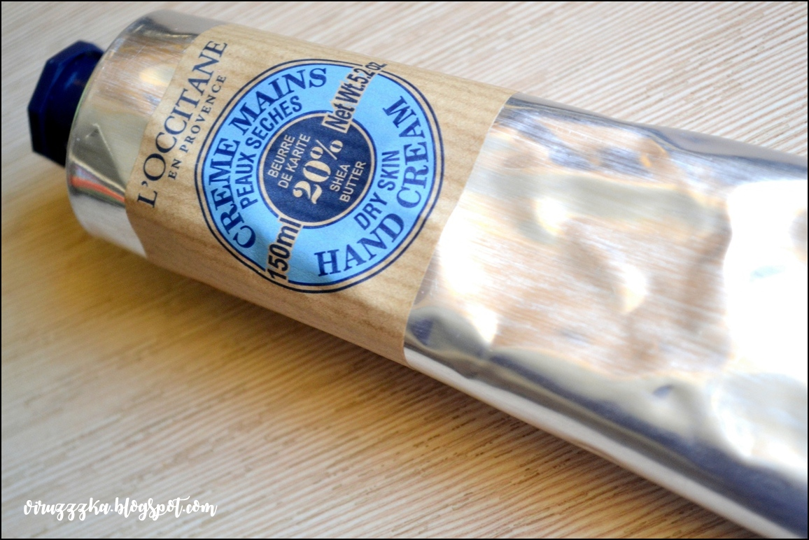 Крем для рук для сухой кожи L'Occitane Shea Butter Dry Skin Hand Cream