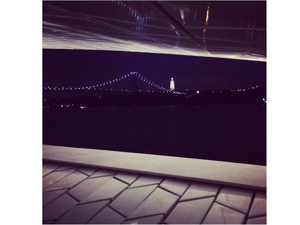 À noite na cidade
