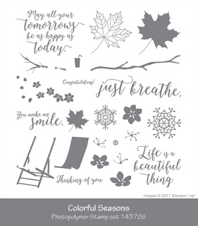Colorful Seasons Stamp Set