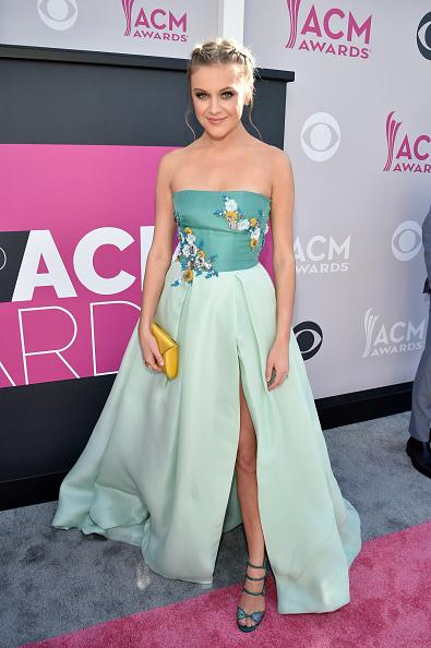 Kelsea Ballerini light blue gown