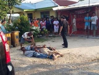 Mantan Ketua Gerindra Ditembak
