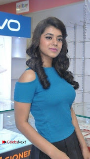 Telugu Actress Yamini Bhaskar Latest Pos in Blue Top and Black Skirt  0031.jpg