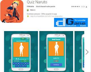 Soluzioni Quiz Naruto | Tutti i livelli risolti con screenshot soluzione