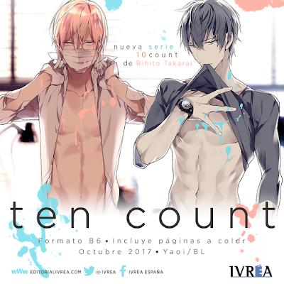 Manga: Ten Count, el manga yaoi de Rihito Takarai se licenciará en España por - Ivréa