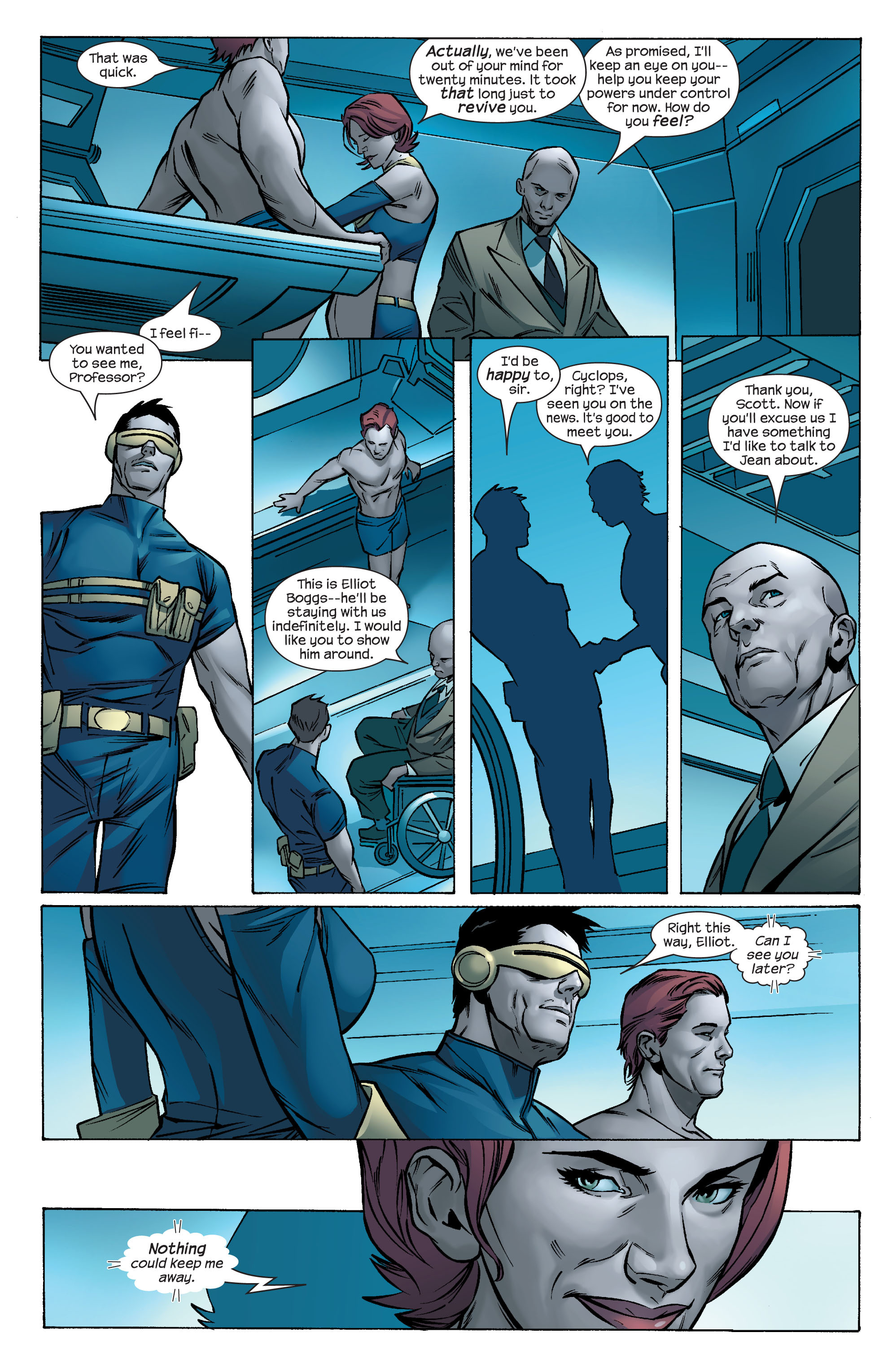 Read online Ultimate X-Men comic -  Issue #69 - 7