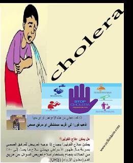 بحث حول داء الكوليرا ، الأسباب ، الأعراض ، الوقاية والعلاج