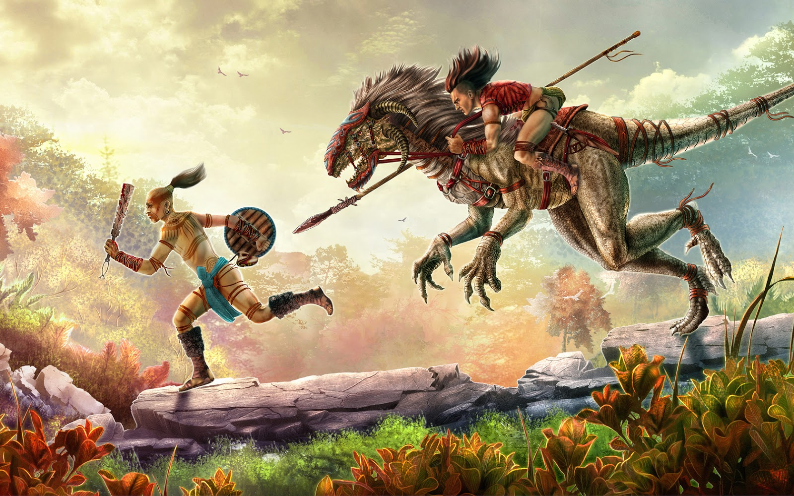Raptor Dinosaur Wallpaper Hd