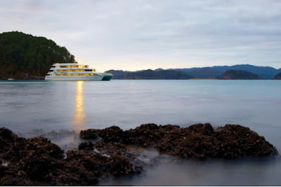 Source: Viator website. Enjoy sunrise and sunset on board the Auckland Harbour and Hauraki Gulf Overnight Cruise,