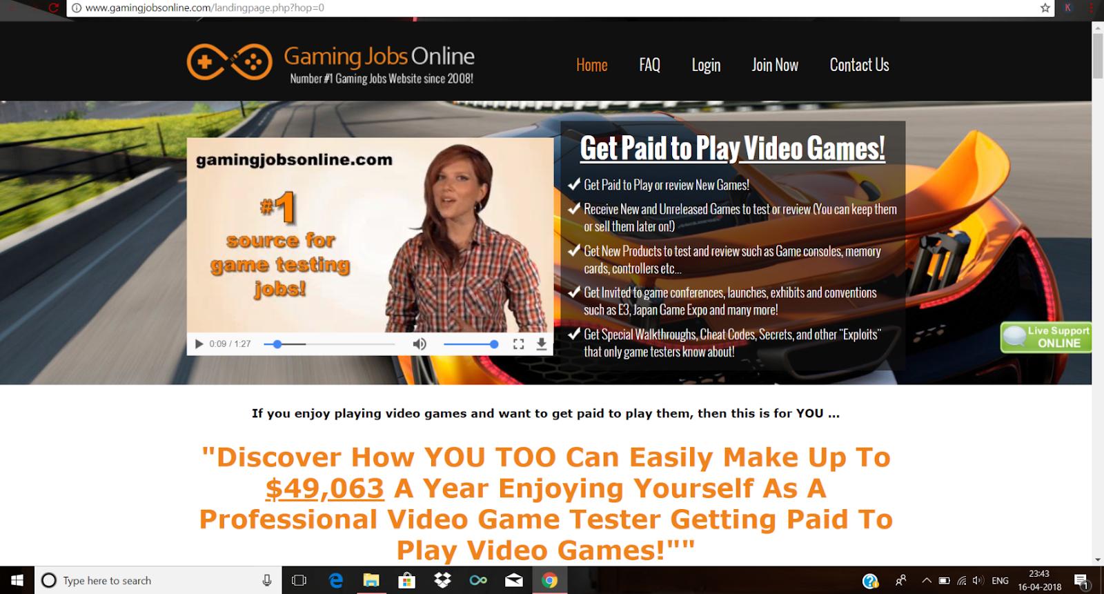 Play Games Earn Money Website