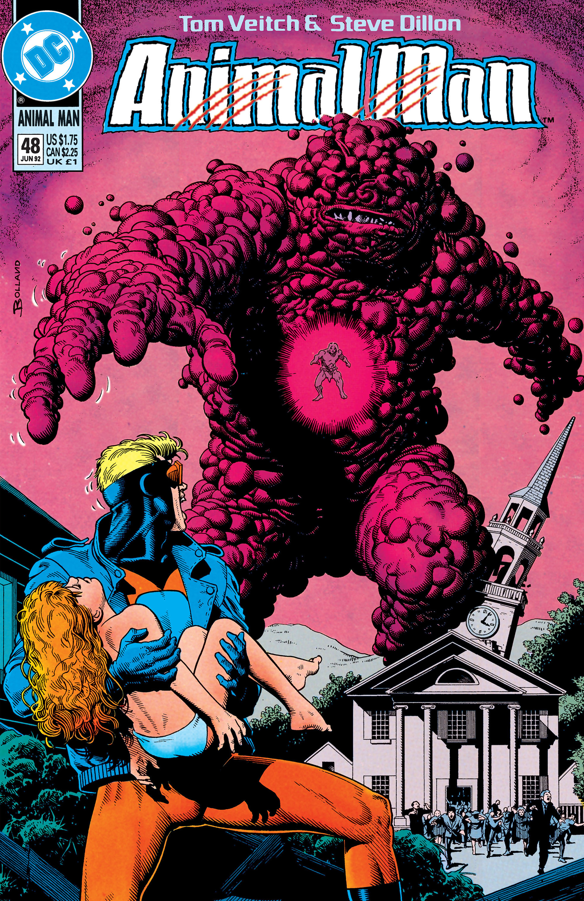Read online Animal Man (1988) comic -  Issue #48 - 1
