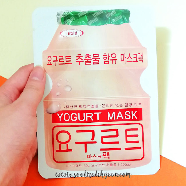 Review; itibiti's Yogurt Mask Pack + First Impression