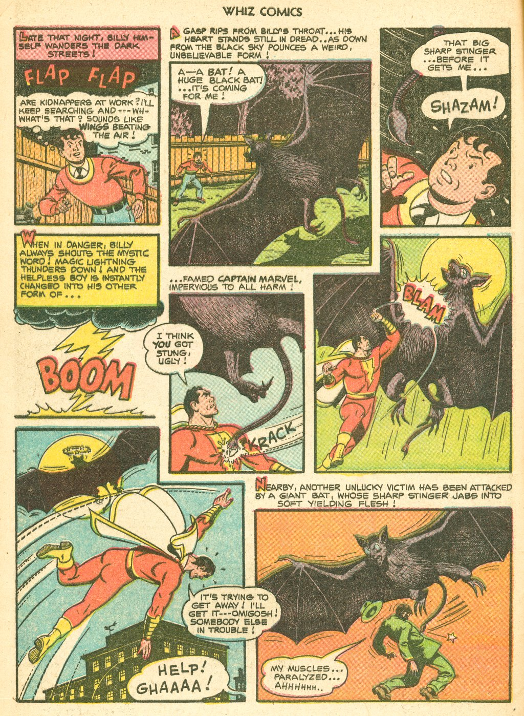 WHIZ Comics #155 #156 - English 4