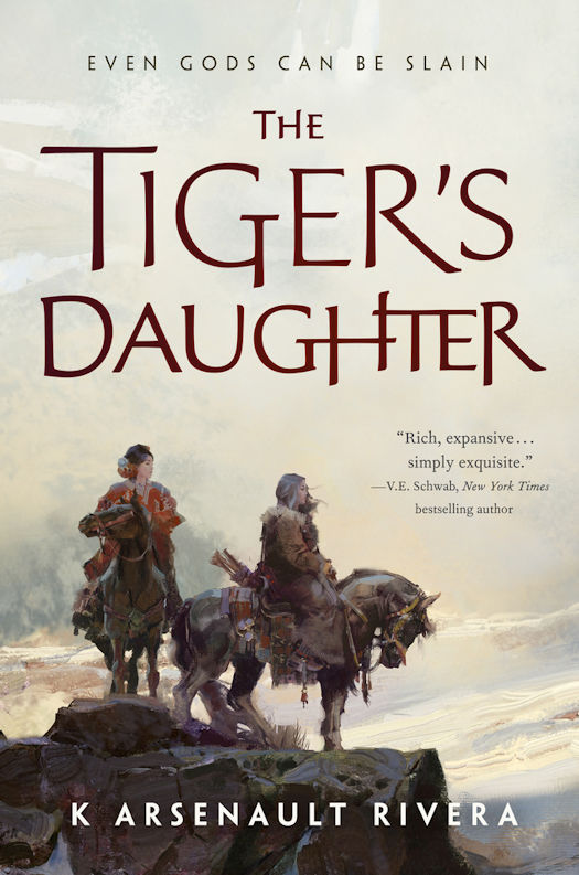 Interview with K Arsenault Rivera, author of The Tiger's Daughter