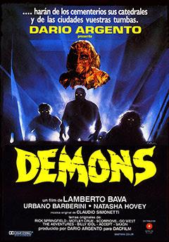 Demons, Lamberto Bava, Dario Argento