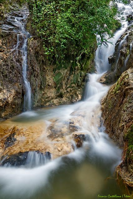 Pequeñas cascadas