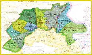 Dịch vụ xem quy hoạch quận 12 nhà đất chí tài
