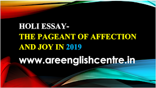Holi Essay-The pageant of affection and joy in 2019