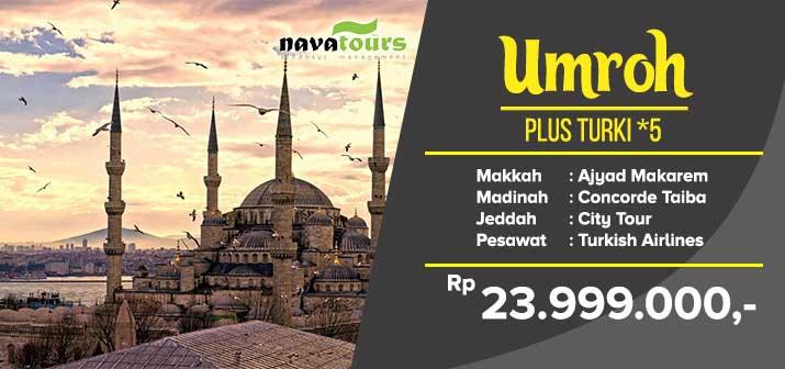 Umrah Pls Trki Bintang 5 Nava Travel
